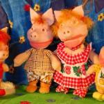 Детский кукольный спектакль «Ай да поросята!»