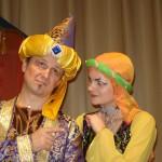 Театрализованное представление «Волшебная лампа Алладина»