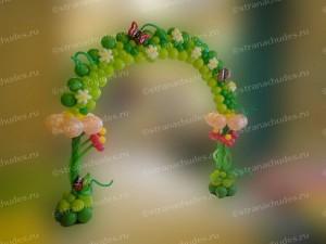 Оформление шарами на детских праздниках