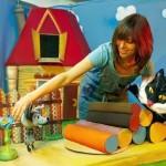 Детский кукольный спектакль «Котенок Гав»