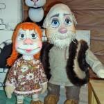 Детский кукольный спектакль «Обыкновенная история» по мотивам русской народной сказки «Репка»