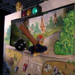 Детский кукольный спектакль «Побег из зоопарка» — Сказка по правилам дорожного движения